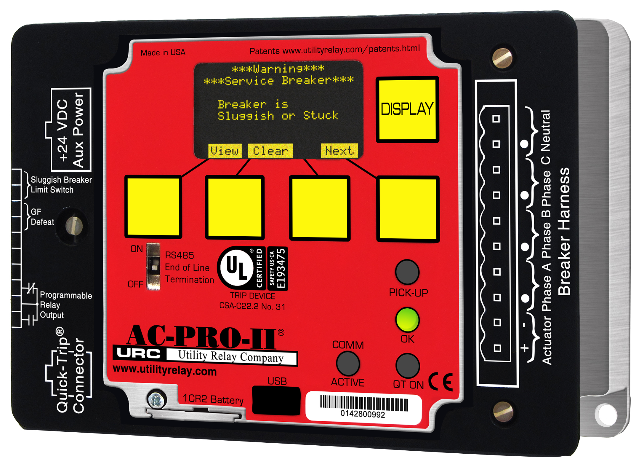 AC-PRO-II at Utility Relay Company