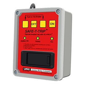 SAFE-T-TRIP, Remote Tripping Device
